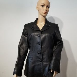 Danier Leather Jacket, Small, Made in Canada